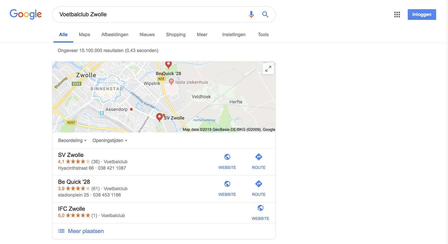 Local Pack Featured snippet SEO
