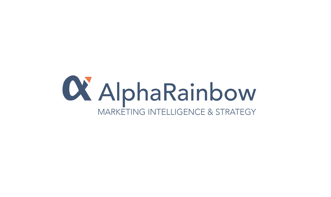 Logo AlphaRainbow klant It's Marketing