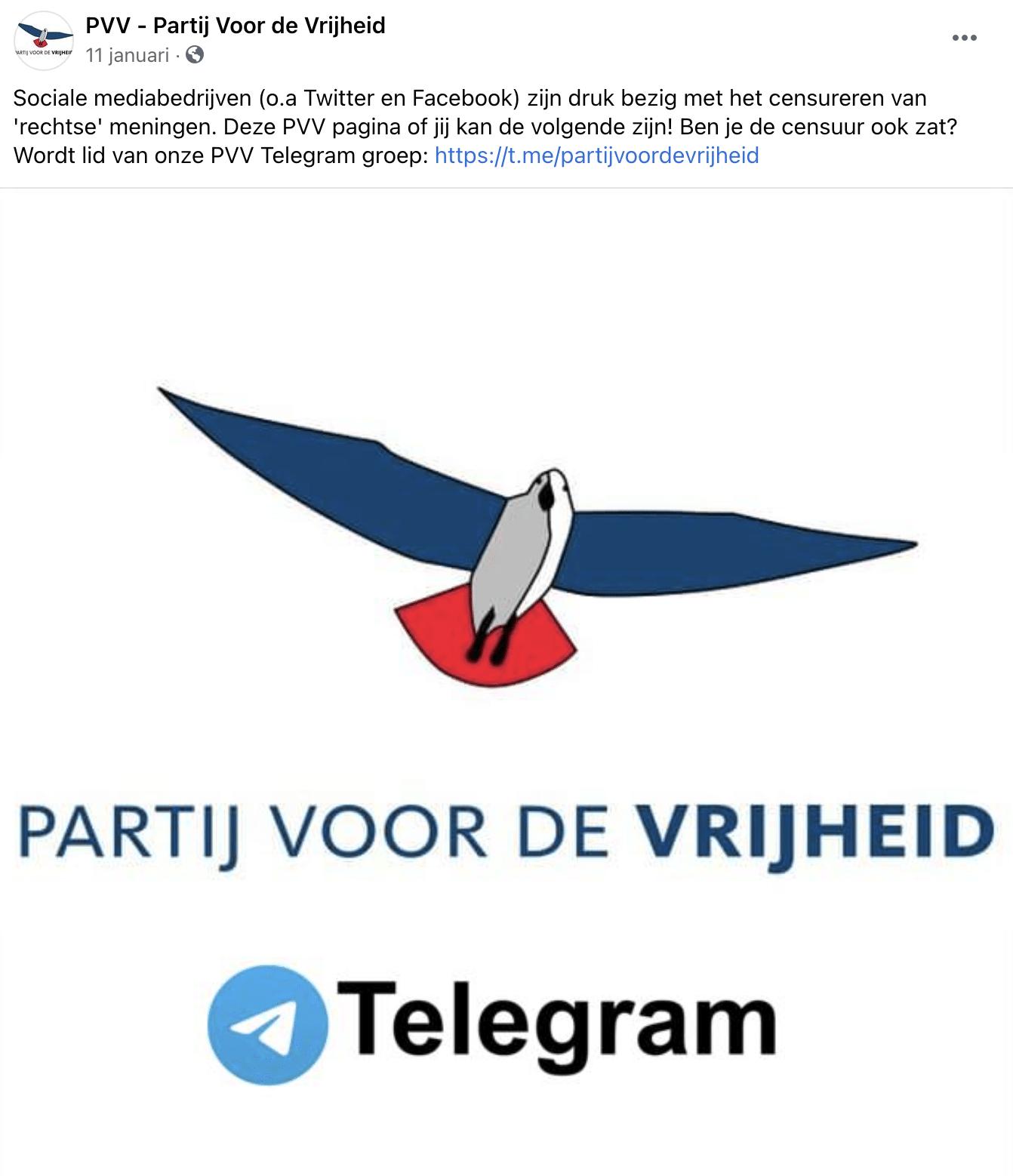 PVV Telegram
