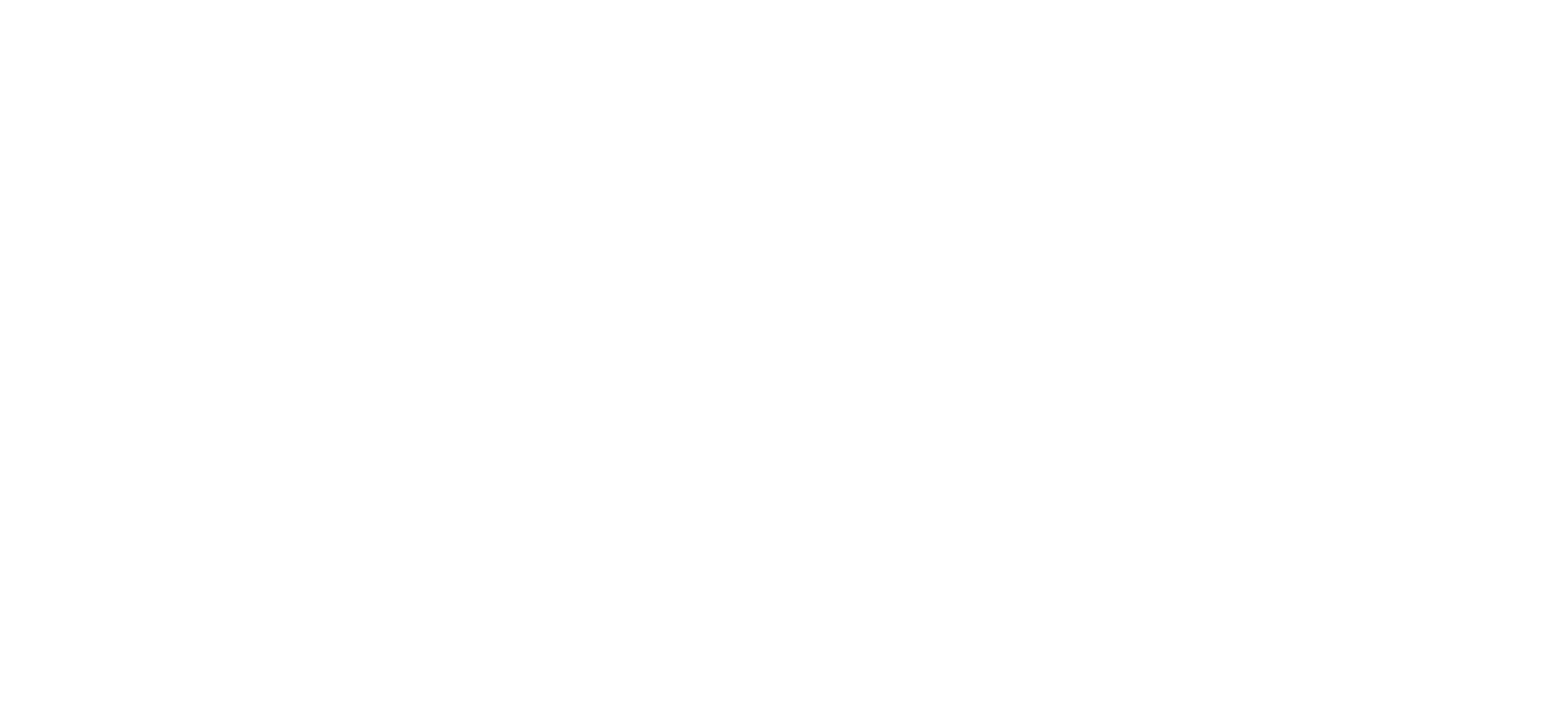 Logo Gastouderbureau Bij de hand - wit